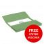 Elba StrongLine Manilla Document Wallet 320gsm 32mm Foolscap Green Ref 100090268 [Pack 25] [REDEMPTION]