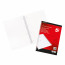 5 Star Office Notebook Wirebound 70gsm Ruled and Margin Perforated Punched 4 Holes 100pp A4 Red [Pack 10]