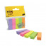 500 x Post-it Page Markers Assorted (Removable adhesive for easy re-positioning) 670-5