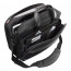 Monolith Deluxe Nylon Multi-Purpose Black Laptop Case /Grey 2370