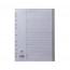 Concord A4 20-Part A-Z Grey Polypropylene Index 62905
