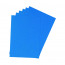 Q-Connect A4 Blue Leathergrain Comb Binder Cover (Pack of 100) KF00500