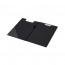 Q-Connect PVC Foldover Clipboard Foolscap Black KF01300