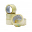 Q-Connect Polypropylene Packaging Tape 50mm x 66m Clear (Pack of 6) KF01791