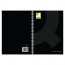 Q-Connect Wirebound A4 Hardback Notebook 160 Pages Black (Pack of 3) KF03727