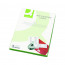 Q-Connect White Multipurpose Label 199.6 x 289mm 1 Per Sheet (Pack of 100) KF26050
