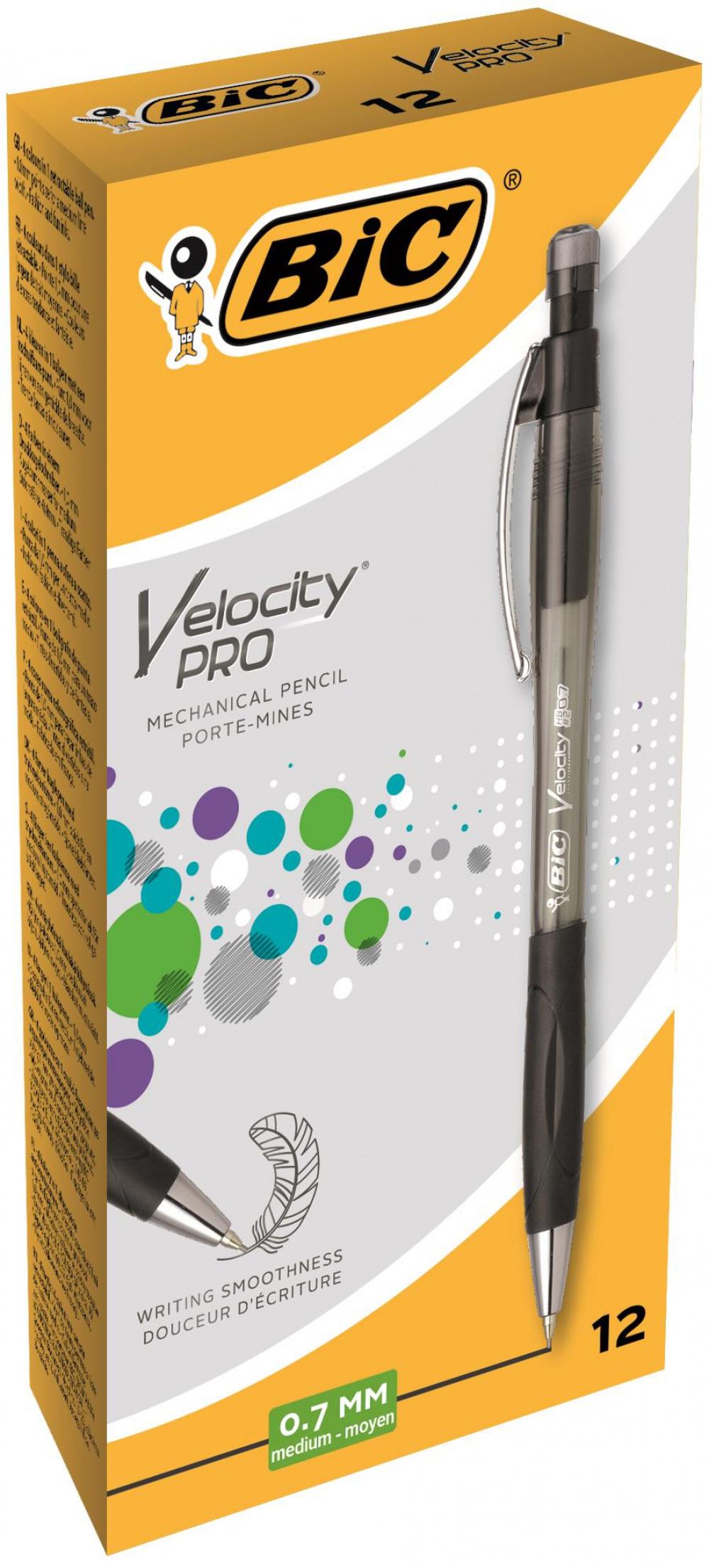 Bic Velocity Pro Mech Pencil 0 7mm Lead