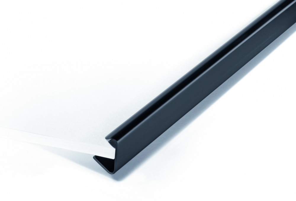 DURABLE SPINEBAR A4 9MM BLACK PK25