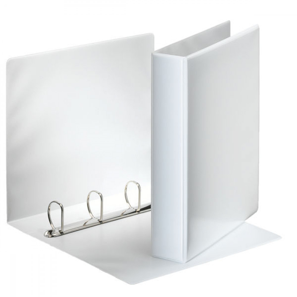 ESSELTE WHT A4 PRES 4D-RING BINDER 40MM