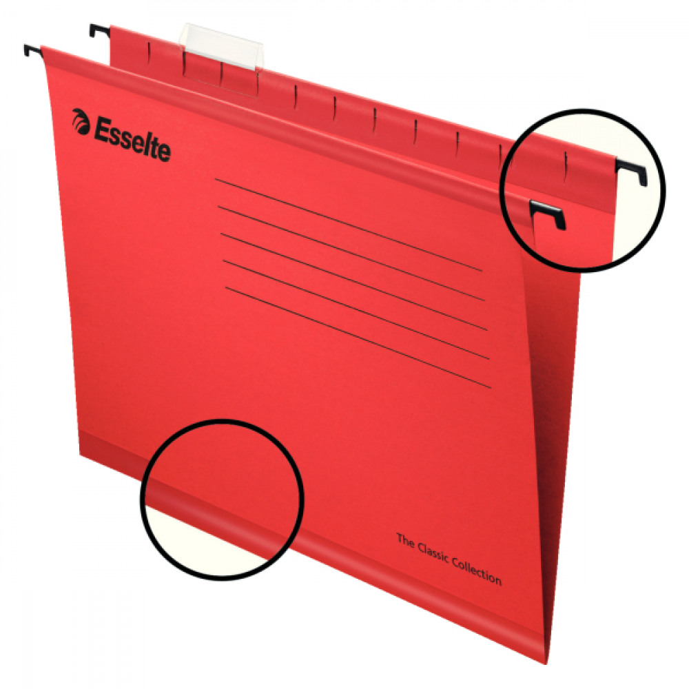 ESSELTE RED FC SUSPENSION FILE PK25