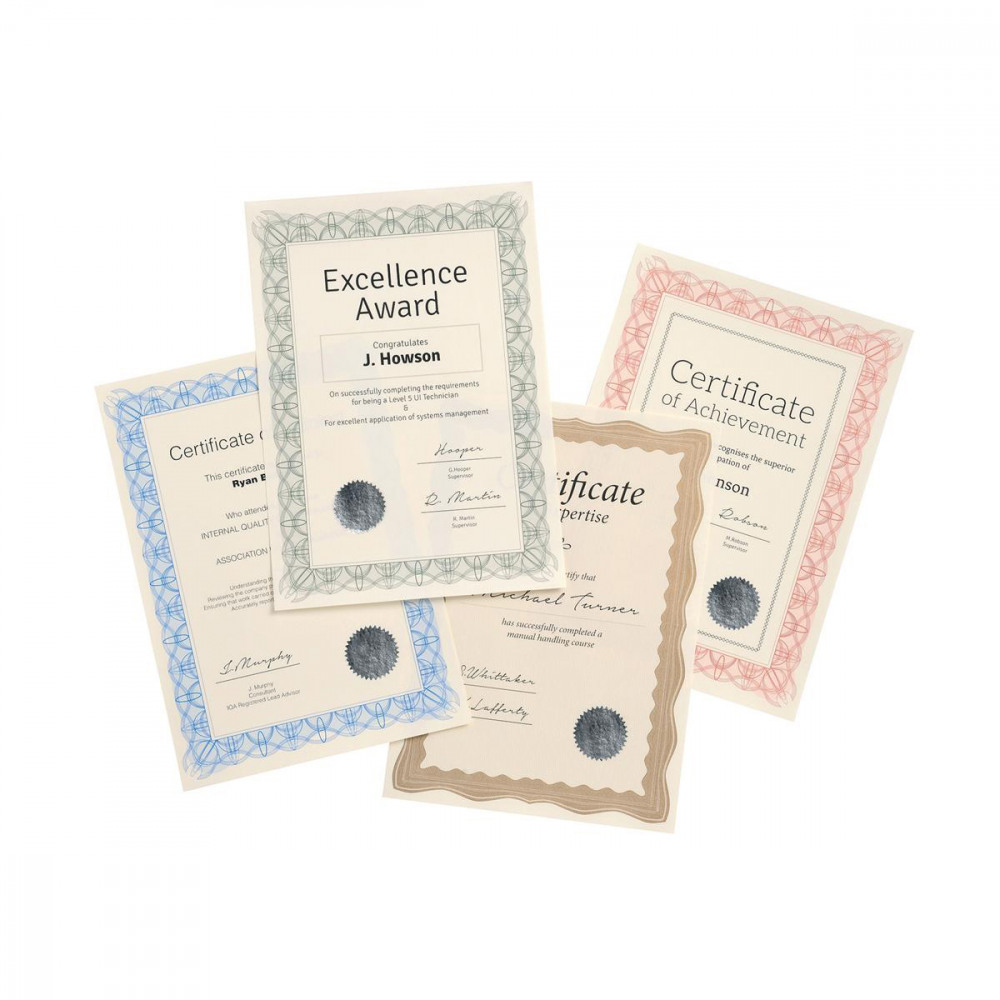 Epower Certificate Papers 90g A4 Bronzewavepk30