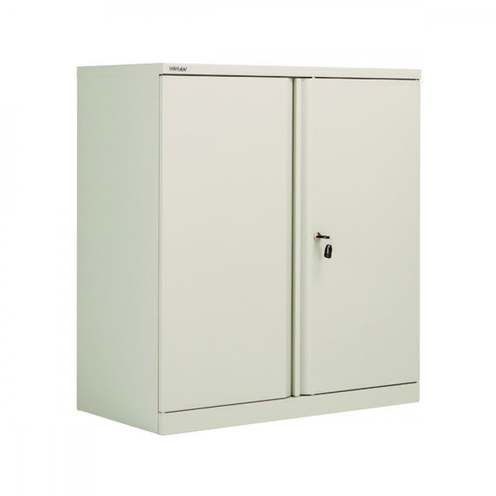 FF BISLEY 2DR CUPBOARD GREY 1016MM EMPTY