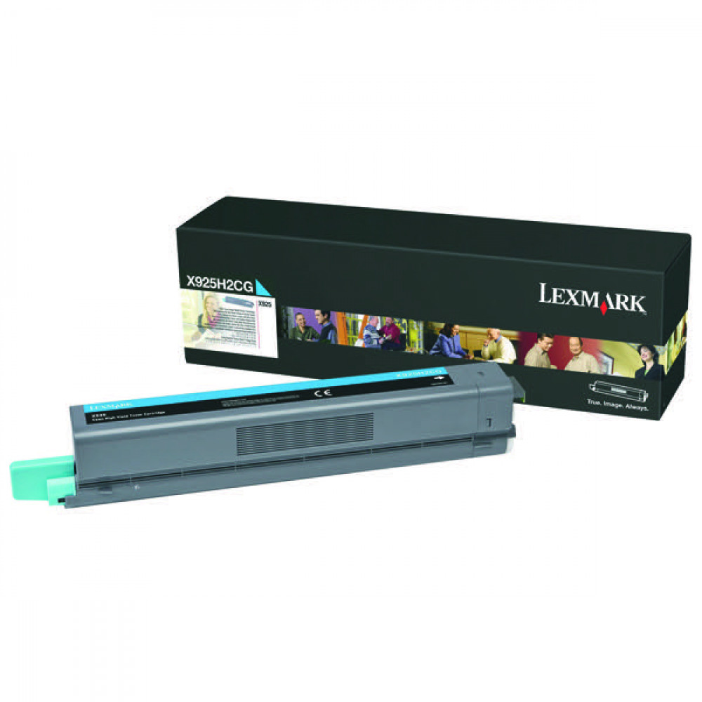 LEXMARK X925 TONER CARTRIDGE CYAN