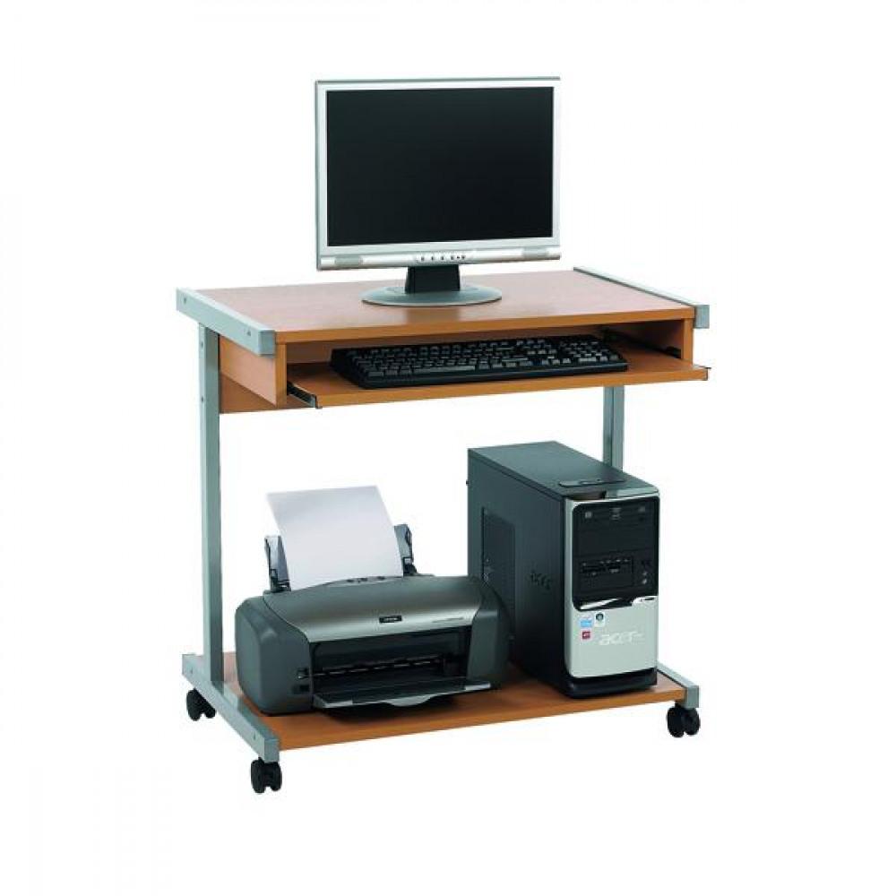 FF SERRION 800 COMPUTER STAND BEECH
