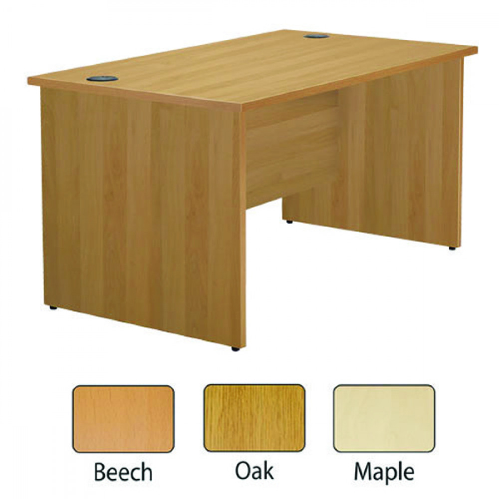 FF JEMINI 1200MM P/E RECTANGULAR MAPLE