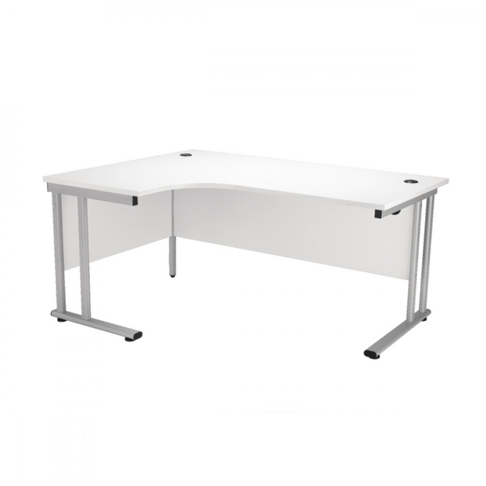 FR FIRST RAD L HAND CANT DESK 1800 WHITE