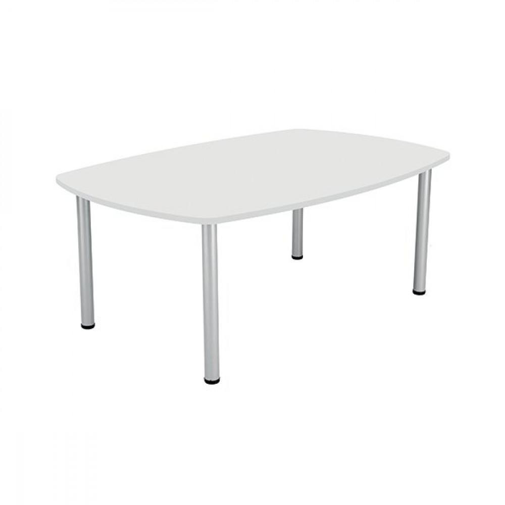 JEMINI BOARDROOM TABLE 1800 WHITE
