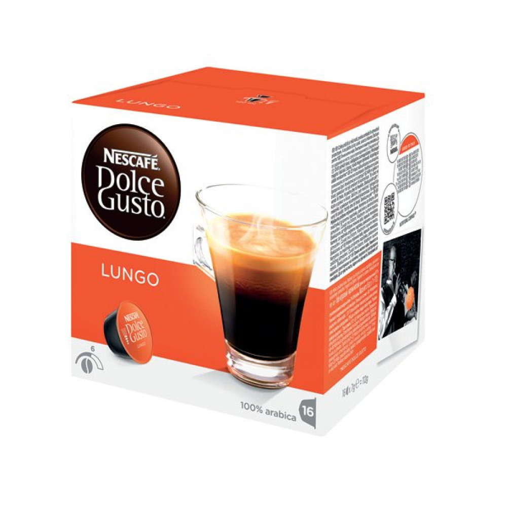 epower nescafe dolce gusto cafe lungo capsules