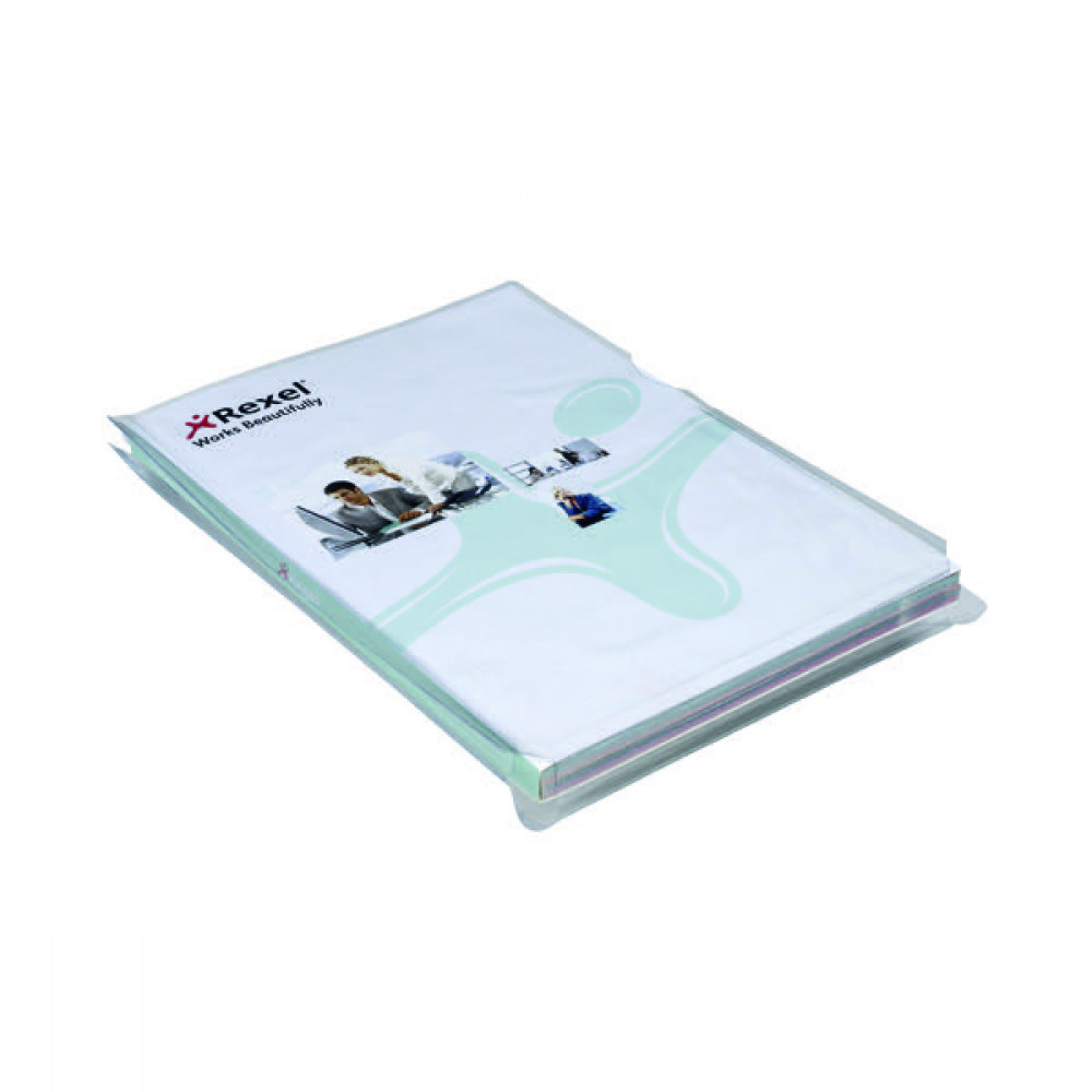 REXEL NYREX A4 EXP CUT BACK FOLDER PK10
