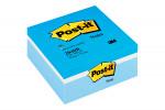 Post-it Note Colour Cube 76 x 76mm Blue 400 Sheets 2040B