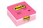 Post-it Note Colour Cube 76 x 76mm Pink 400 Sheets 2040P