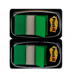 Post-it Index Tabs Dispenser with Green Tabs (Pack of 2) 680-G2EU