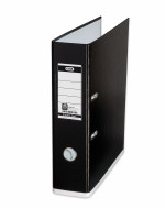 Elba MyColour Lever Arch File A4 Black and White 100081033