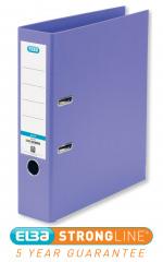 Elba 70mm Lever Arch File Plastic A4 Purple 100202167