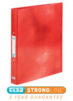 Elba Classy A4 Plus 25mm Red Ring Binder 400017755