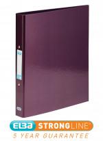 Elba Classy A4 Plus 25mm Metallic Purple Ring Binder 400017758