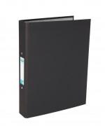 Elba A4 Black 25mm Paper Over Board Ring Binder (Pack of 10) 400033495