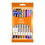 Bic Gel-ocity Gel Ink Pens 0.5mm Assorted (Pack of 8) 992602
