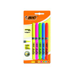 BIC Chisel Tip Highlighter Grip Assorted (Pack of 5) 894324