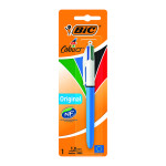 Bic 4 Colour Retractable Ballpoint Pen Blister (Pack of 10) 8032232