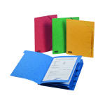 Elba Strongline 9 Part Manilla Foolscap Red (Pack of 5) 100090174