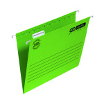 Elba Ulti Vert Suspension File Vbtm FC Green (Pack of 25) 100331170