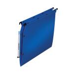 Elba Ultimate Lateral File Vbtm PP A4 Blue (Pack of 25) 100330583