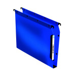 Elba Lateral File PP 30mm A4 Blue (Pack of 25) 100330584