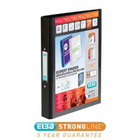 ELBA VISION A4 25MM BLACK 2-RING BINDER