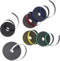 Nobo Magnetic Self-Adhesive Tape 10mmx10m Black 1901053