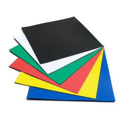 Nobo Magnetic Squares 150mm Assorted (Pack of 6) 1901104