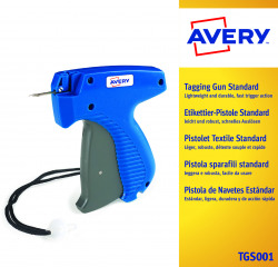 Avery Dennison Tagging Gun Standard Mark 3 (Suitable for 50 and 100 clip fasteners) 01031