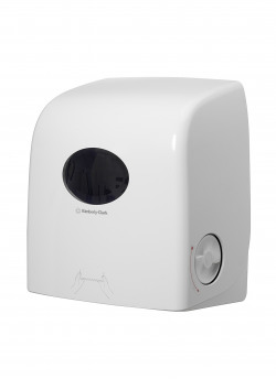 Aquarius White Slimroll Hand Towel Dispenser (Dispenser for Scott Slimroll Hand Towels) 6953