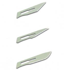 Swordfish Scalpel No.3 Handle With 4 Blades Metal 43110