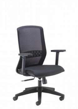 Arista Tekna High Back Executive Mesh Chair Black KF79886
