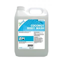 2Work Mild Coconut Body Wash 5 Litre Bulk Bottle 2W01072