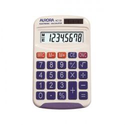 Aurora HC133 Pocket Calculator White HC133