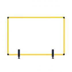 Bi-Office Protector Desktop Board 3mm 1200x900mm Yellow GL08019401