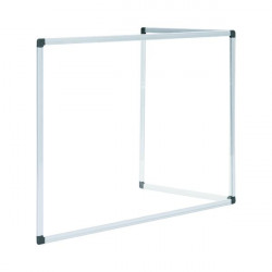Bi-Office Duo Glass Board 900x600 Aluminium GL07209101