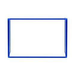 Bi-Office Trio Transparent Board 900x600/2 3mm Blue GL07219301